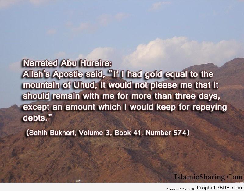 sahih bukhari volume 3 book 41 number 574