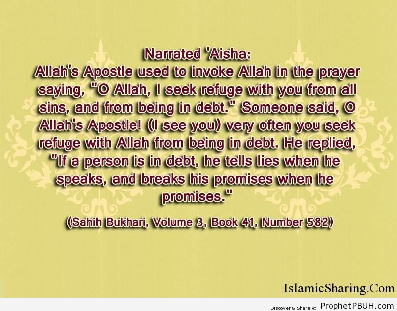 sahih bukhari volume 3 book 41 number 582