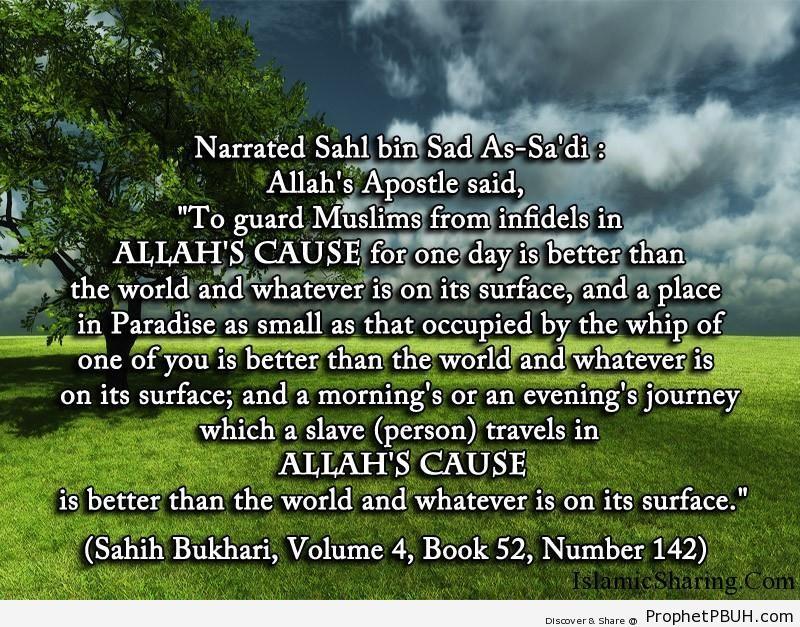 sahih bukhari volume 4 book 52 number 142