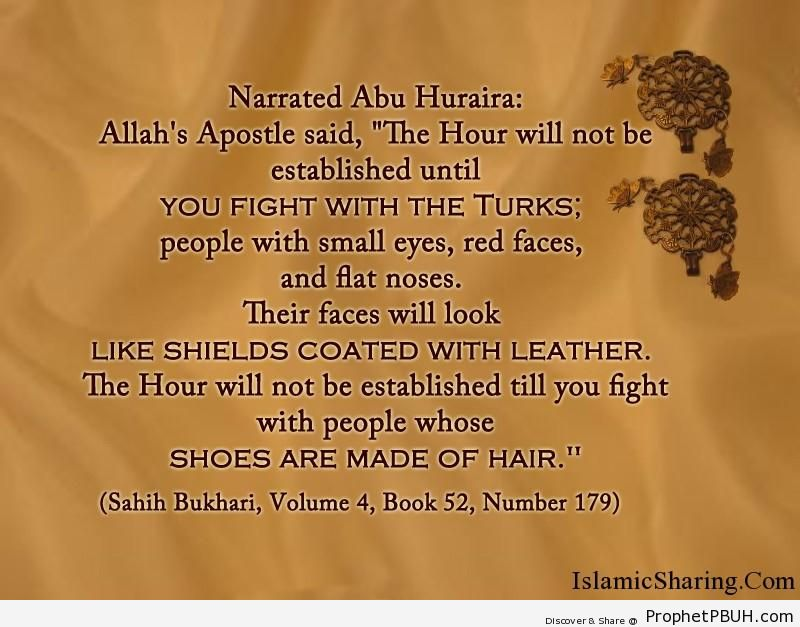 sahih bukhari volume 4 book 52 number 179