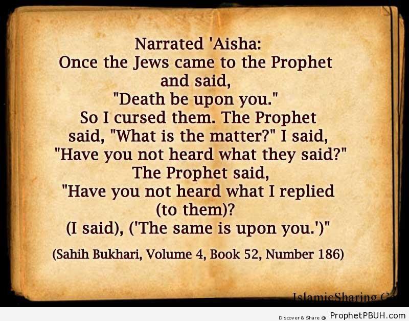 sahih bukhari volume 4 book 52 number 186