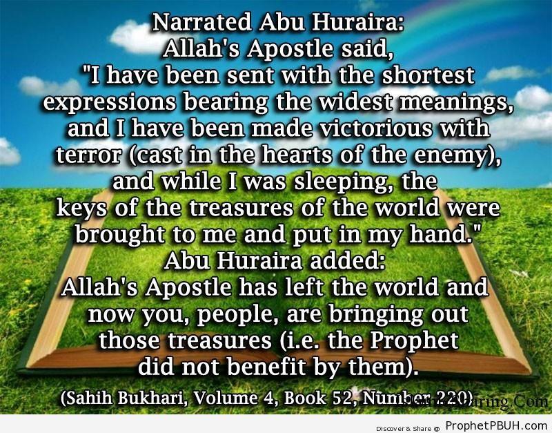 sahih bukhari volume 4 book 52 number 220