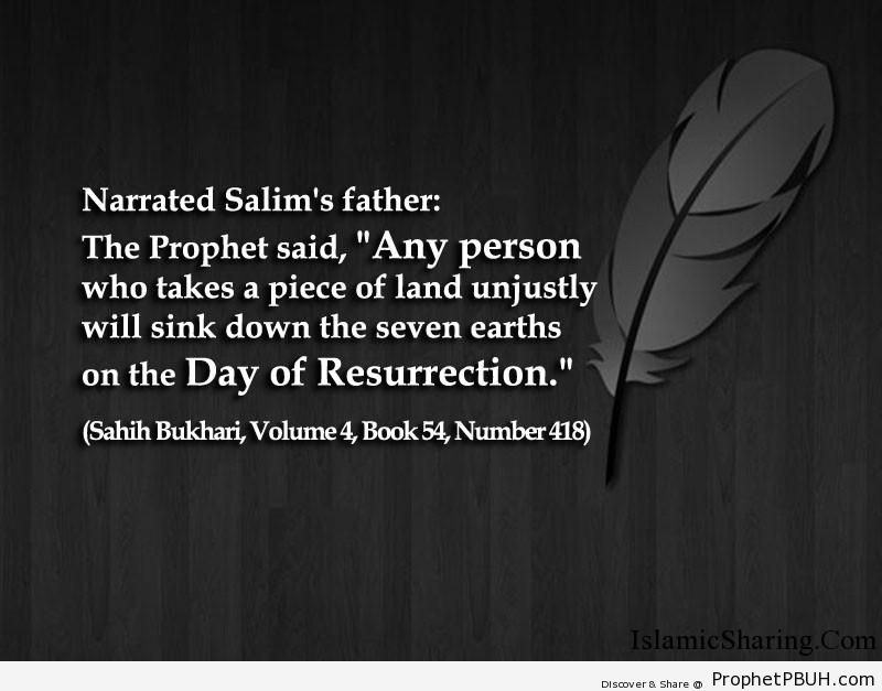 sahih bukhari volume 4 book 54 number 418
