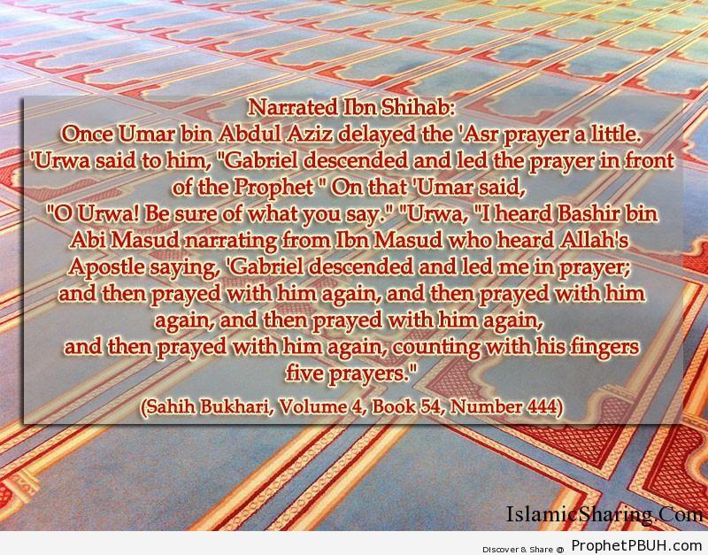 sahih bukhari volume 4 book 54 number 444