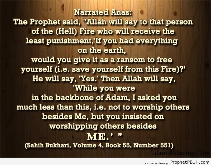 sahih bukhari volume 4 book 55 number 551