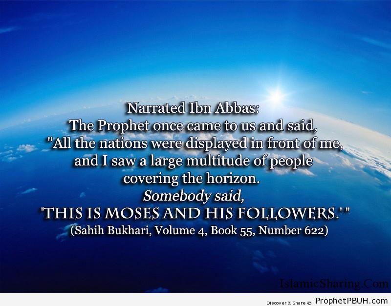 sahih bukhari volume 4 book 55 number 622