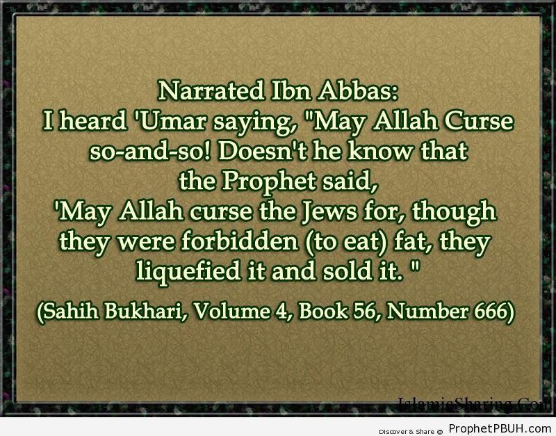 sahih bukhari volume 4 book 56 number 666