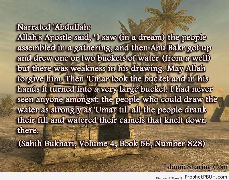sahih bukhari volume 4 book 56 number 828