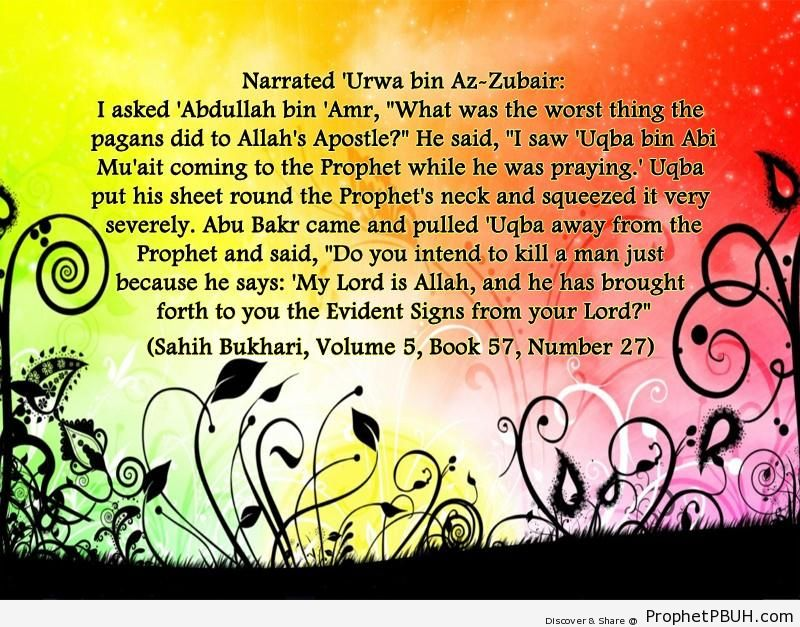 sahih bukhari volume 5 book 57 number 27
