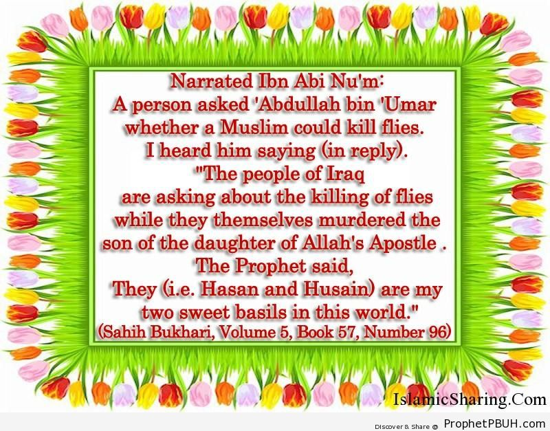 sahih bukhari volume 5 book 57 number 96
