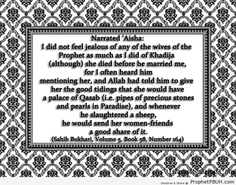 sahih bukhari volume 5 book 58 number 164