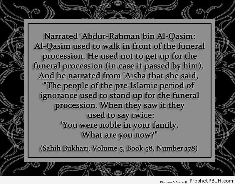 sahih bukhari volume 5 book 58 number 178