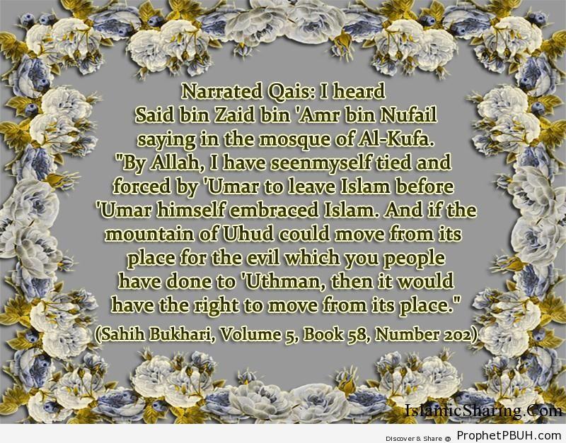 sahih bukhari volume 5 book 58 number 202