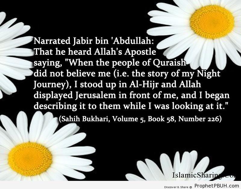 sahih bukhari volume 5 book 58 number 226