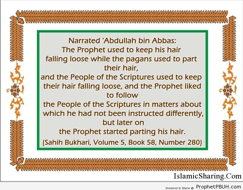 sahih bukhari volume 5 book 58 number 280