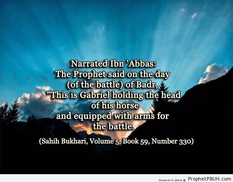 sahih bukhari volume 5 book 59 number 330