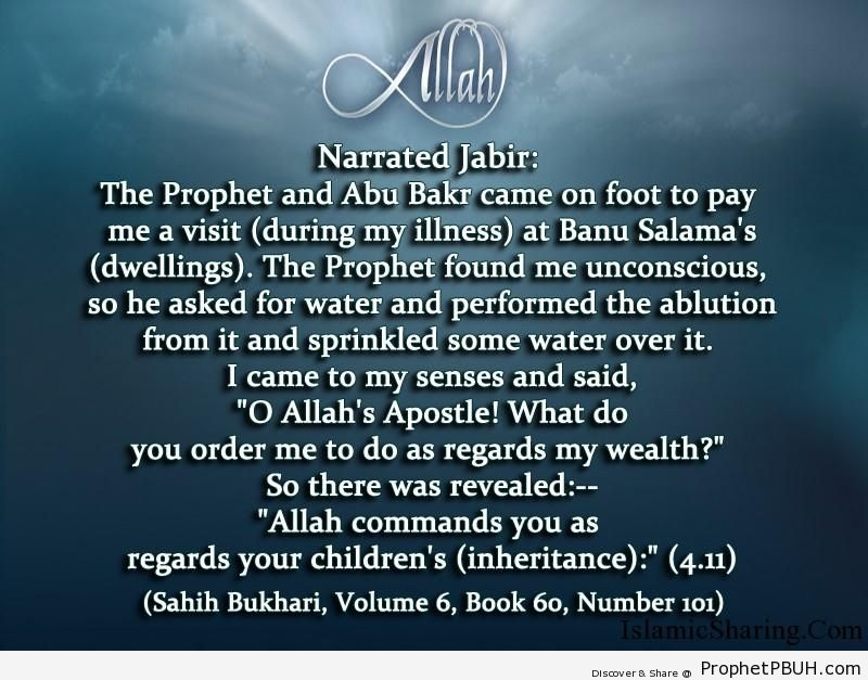 sahih bukhari volume 6 book 60 number 101