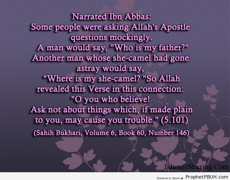 sahih bukhari volume 6 book 60 number 146