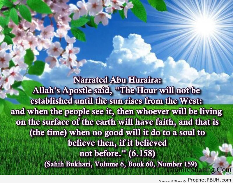 sahih bukhari volume 6 book 60 number 159