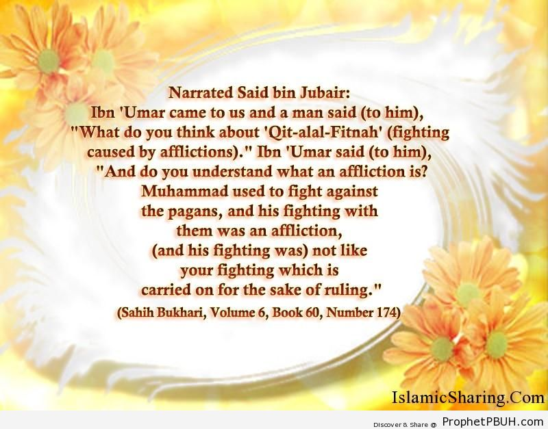 sahih bukhari volume 6 book 60 number 174