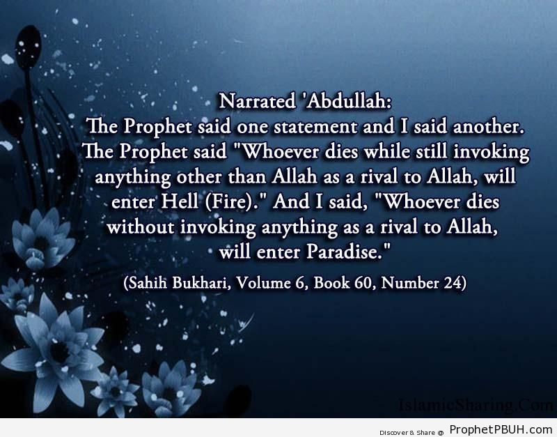 sahih bukhari volume 6 book 60 number 24