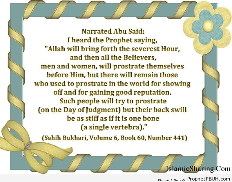 sahih bukhari volume 6 book 60 number 441