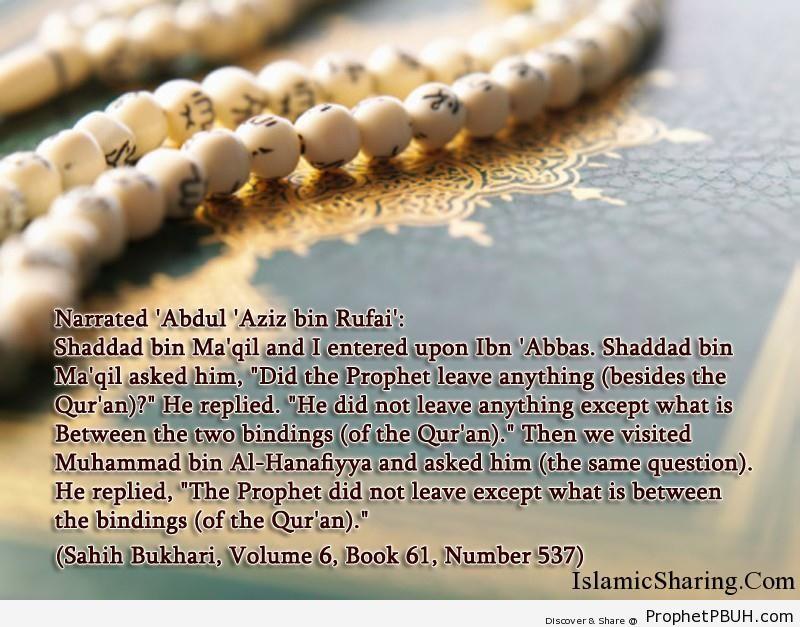 sahih bukhari volume 6 book 61 number 537