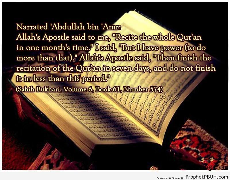 sahih bukhari volume 6 book 61 number 574