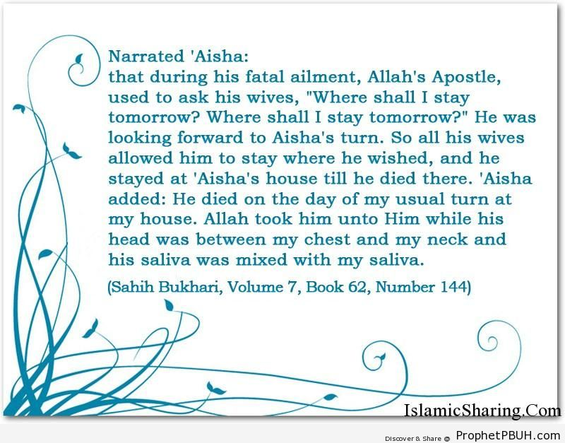 sahih bukhari volume 7 book 62 number 144