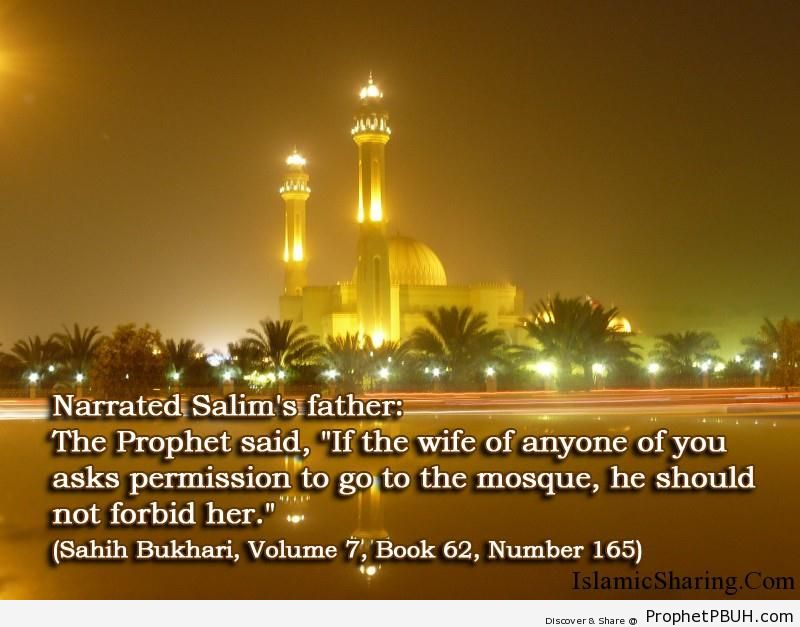 sahih bukhari volume 7 book 62 number 165