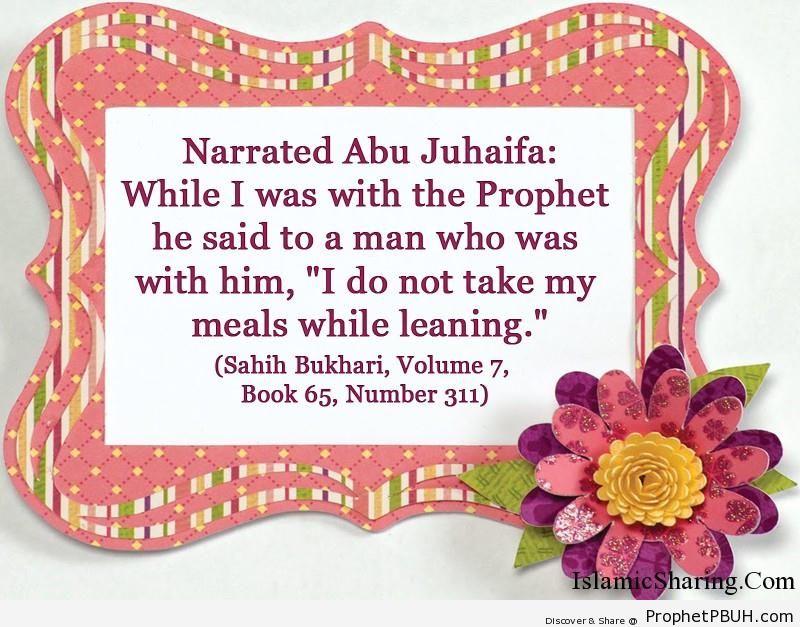 sahih bukhari volume 7 book 65 number 311