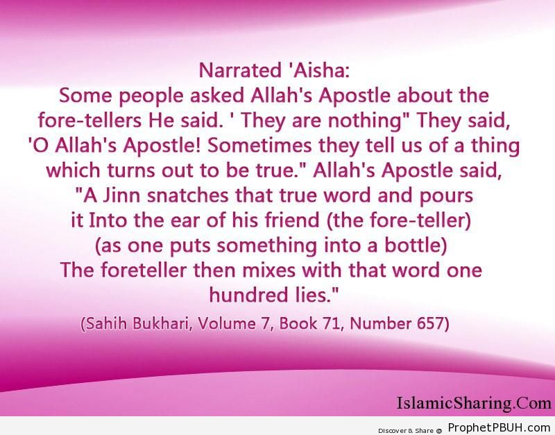 sahih bukhari volume 7 book 71 number 657