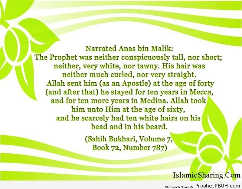 sahih bukhari volume 7 book 72 number 787