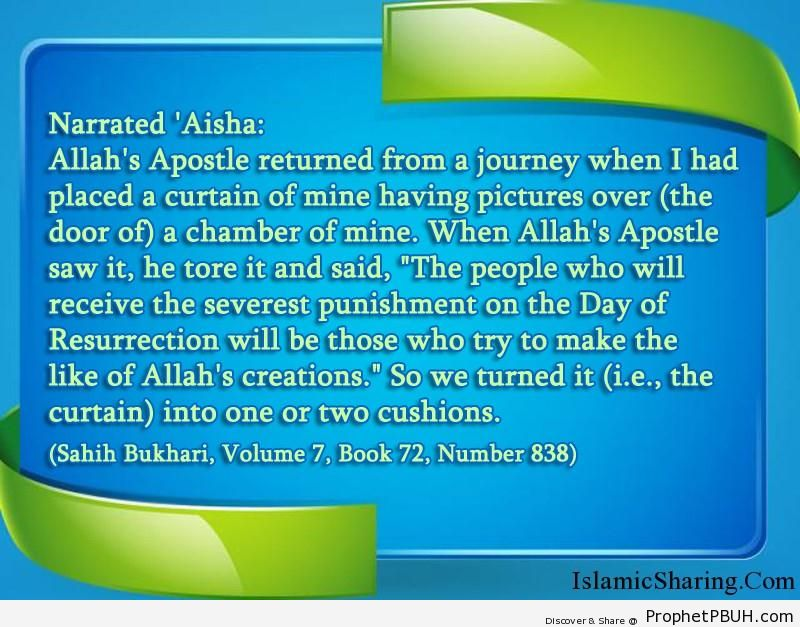 sahih bukhari volume 7 book 72 number 838