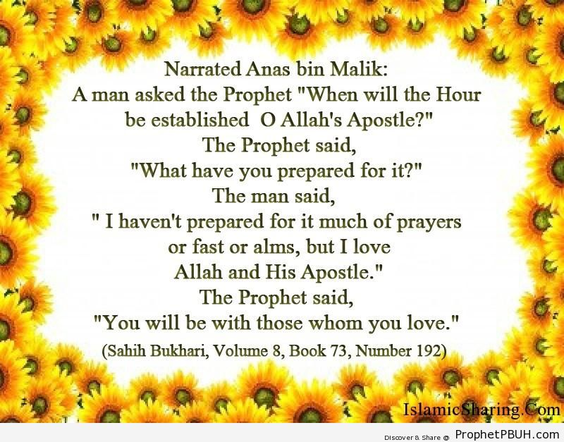 sahih bukhari volume 8 book 73 number 192