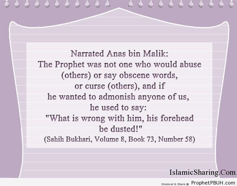 sahih bukhari volume 8 book 73 number 58