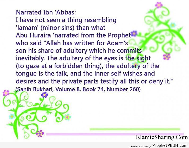 sahih bukhari volume 8 book 74 number 260