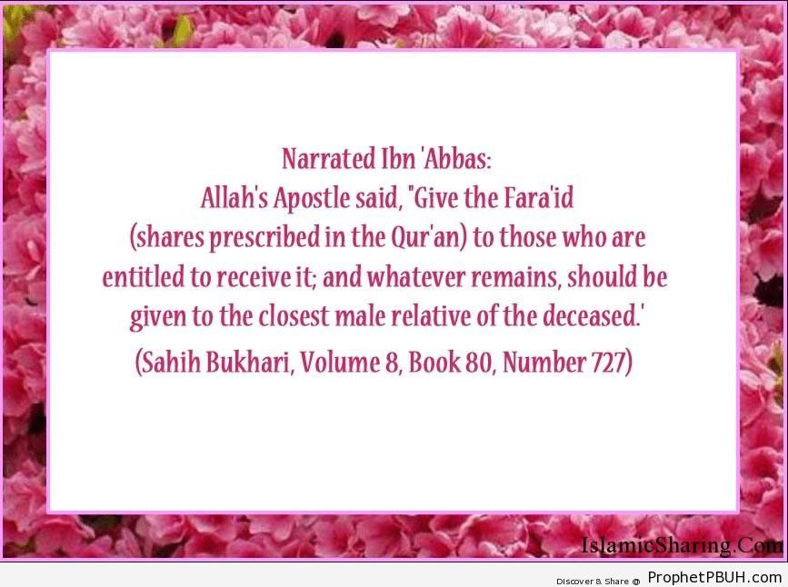 sahih bukhari volume 8 book 80 number 727