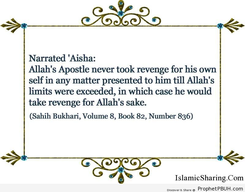 sahih bukhari volume 8 book 82 number 836