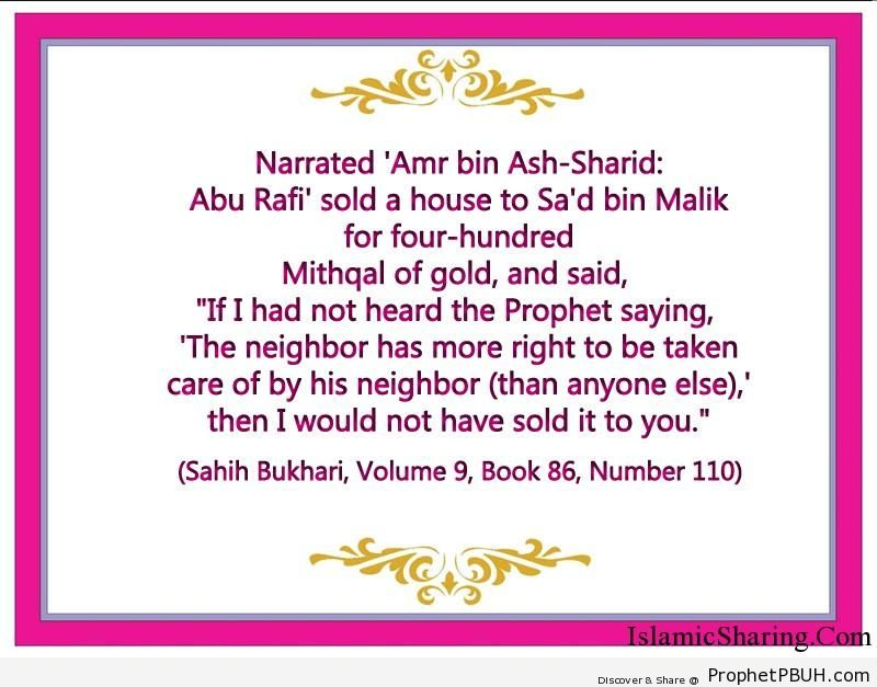 sahih bukhari volume 9 book 86 number 110