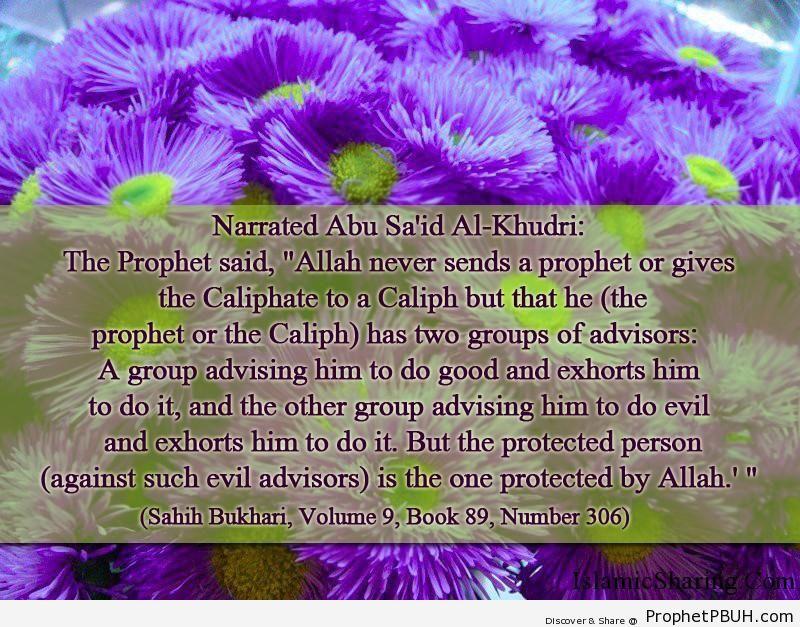 sahih bukhari volume 9 book 89 number 306