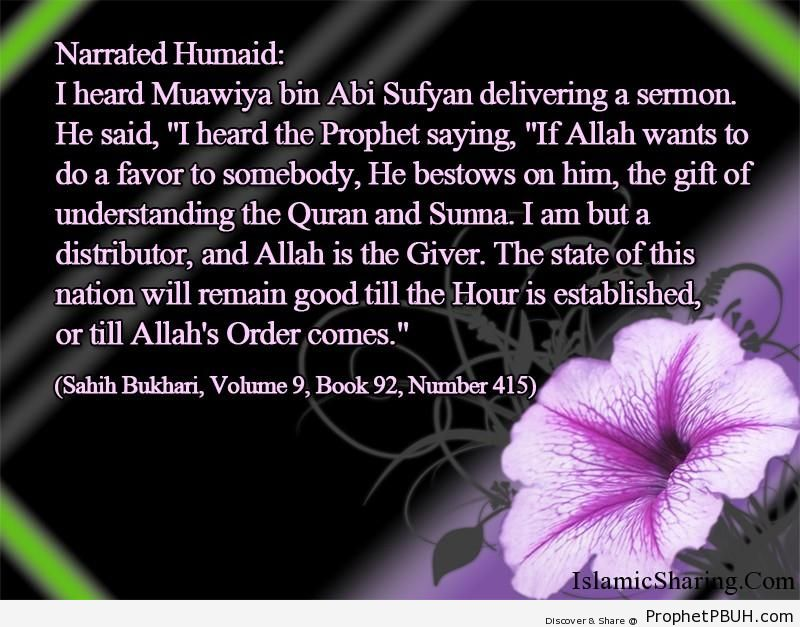 sahih bukhari volume 9 book 92 number 415