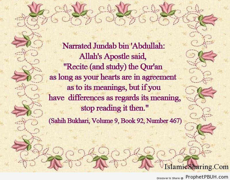 sahih bukhari volume 9 book 92 number 467