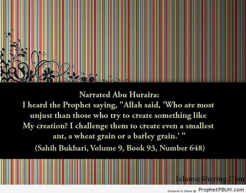 sahih bukhari volume 9 book 93 number 648