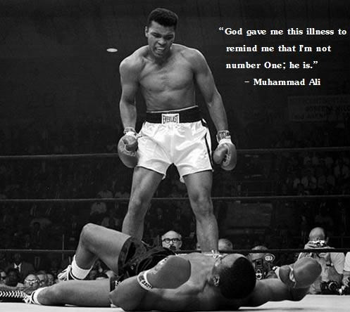 Quote by boxer Muhammad Ali