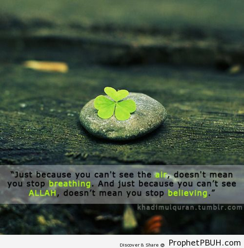 Dont stop believing - Islamic Quotes, Hadiths, Duas