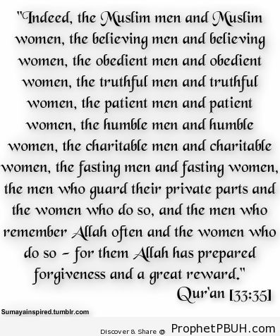 For them Allah has prepared forgiveness n great... - Islamic Quotes, Hadiths, Duas