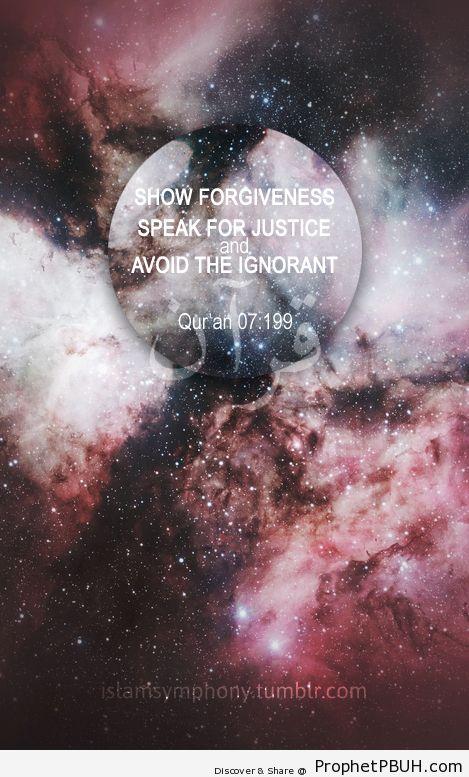 Forgiveness - Islamic Quotes, Hadiths, Duas