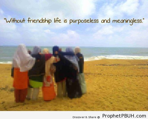 Friendship Shared viaA elah green - Islamic Quotes, Hadiths, Duas
