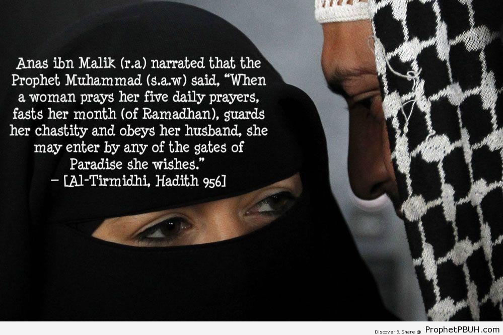 From any gates [Al-Tirmidhi, Hadith 956; Abu... - Islamic Quotes, Hadiths, Duas